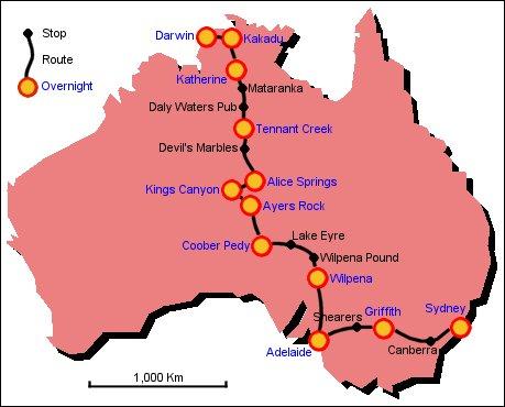 Australia S Red Centre 2002